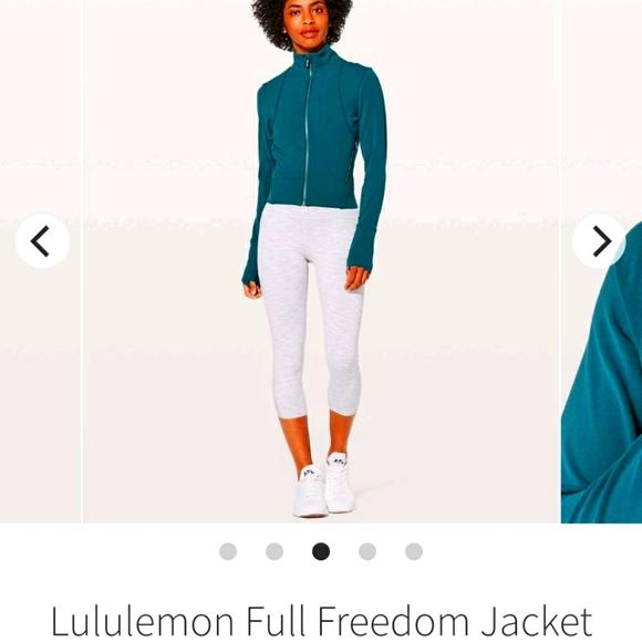 Lululemon full freedom jacket